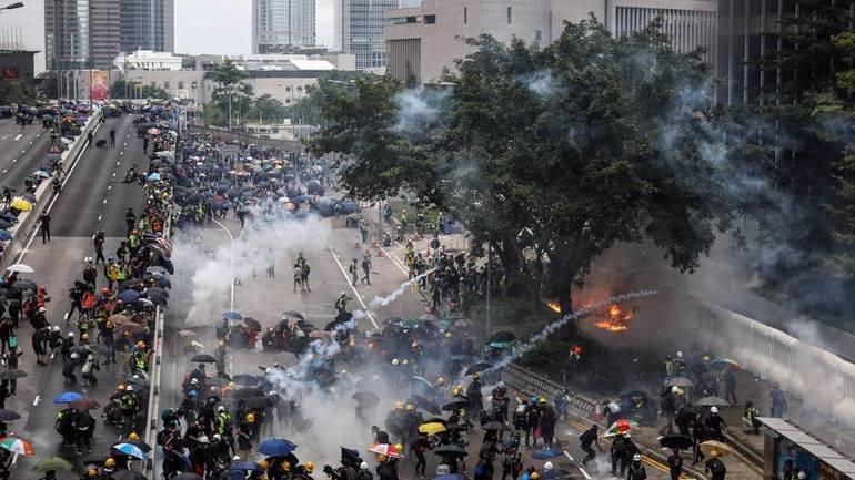 nasilje u Hongkongu