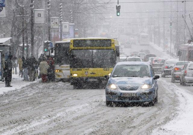 Jak sneg u Srbiji